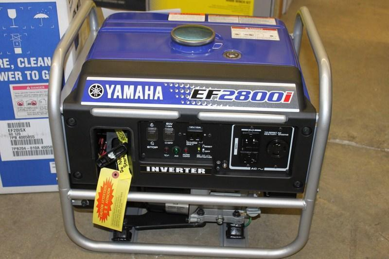 2017 Yamaha Generator EF2800I for Sale! Super Quiet!!!