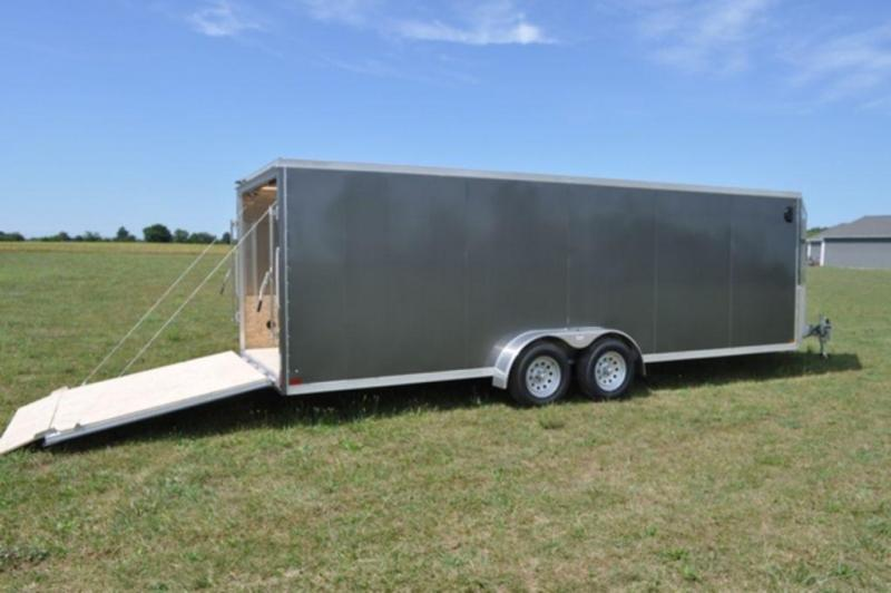 2019 Haul-It 7 x 27 Inline All Aluminum Sled Trailer For Sale