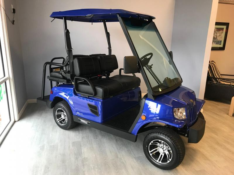 E-Merge E2 REVENGE | Tomberlin | ROYAL BLUE Golf Cart | 2019