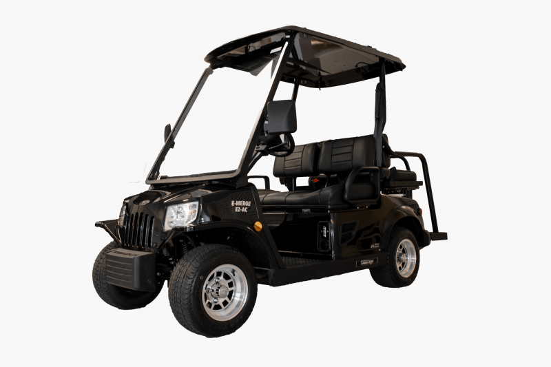 E-Merge E2 REVENGE | Tomberlin | Black Golf Cart | 2019