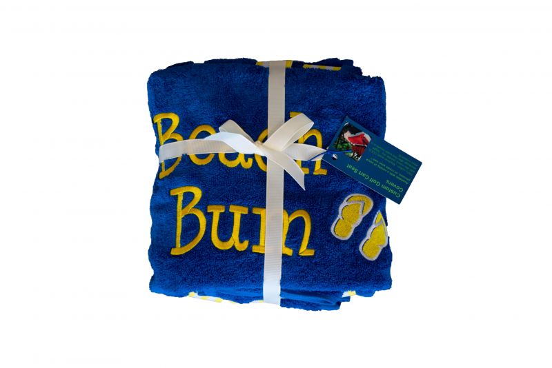 Golf Cart Seat Cover | Blue | Beach Bum