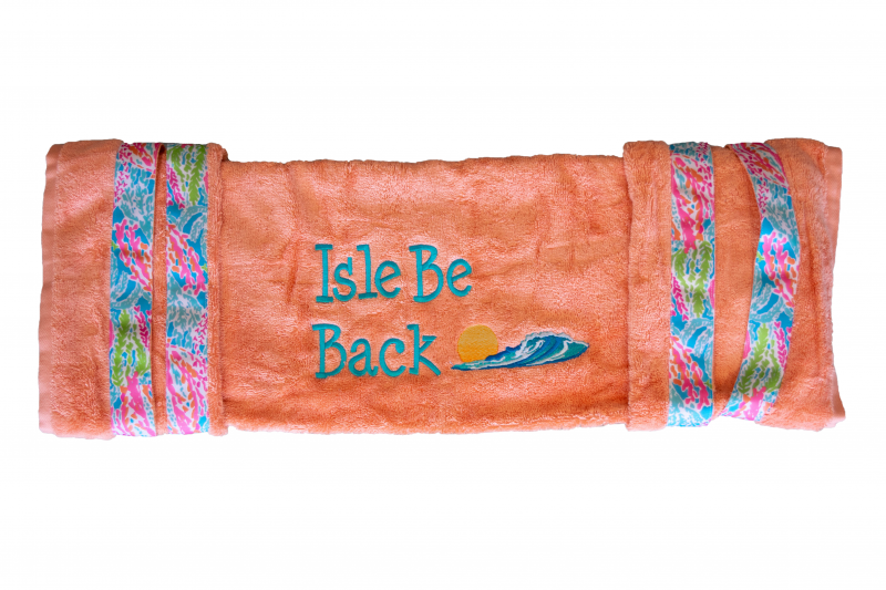 Golf Cart Seat Cover | Coral | Isle Be Back
