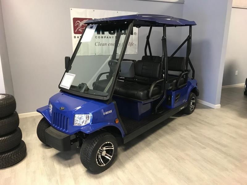 E-Merge E4 REVENGE | Tomberlin | ROYAL BLUE Golf Cart | 2019