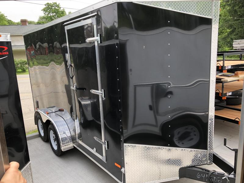 2018 RC Trailers 7x14 TA RWT V Nose Trailer Enclosed Cargo Trailer