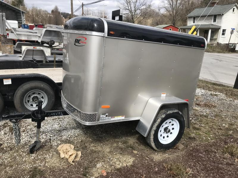 2018 RC Trailers Flat Front Enclosed Enclosed Cargo Trailer