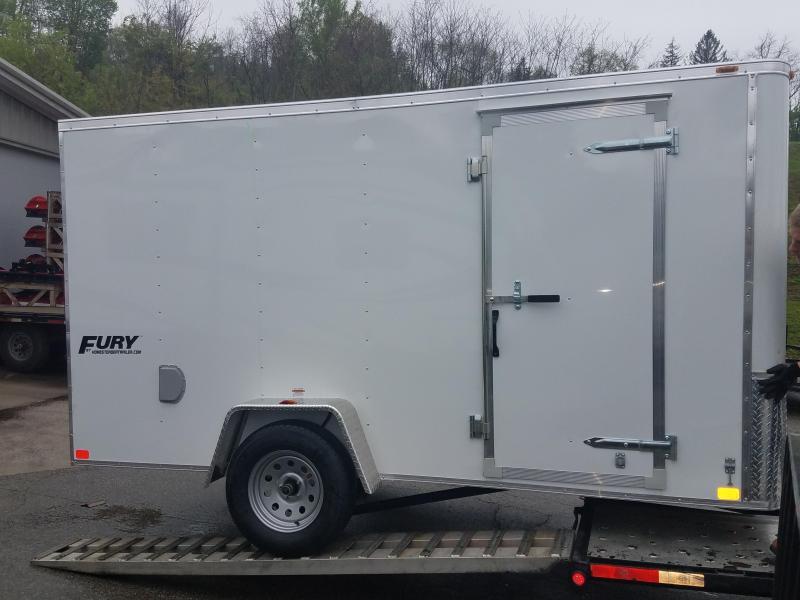 2019 Homesteader Trailer 6X12 Flat Nose Trailer Enclosed Cargo Trailer