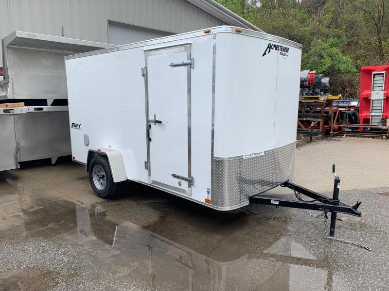 2019 Homesteader Trailer 6X12 Flat Nose Trailer Enclosed Cargo Trailer