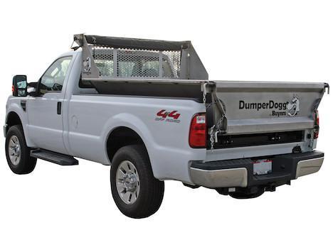 2019 Dumper Dogg 8' Stainless Steel Dump Insert