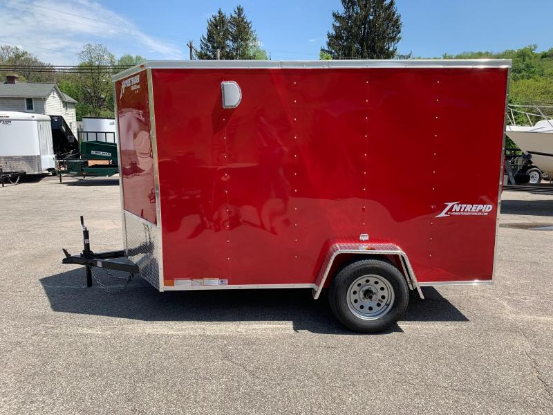 2019 Homesteader Trailer 6X10 V Nose Trailer Enclosed Cargo Trailer