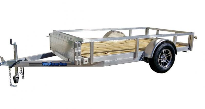 2018 5x10 Wolverine Trailers 4 SERIES Utility Trailer