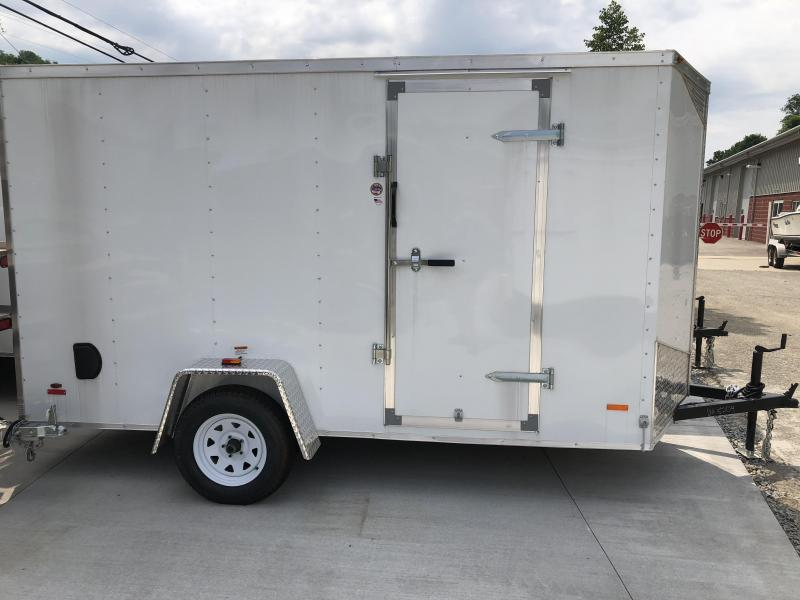 2018 RC Trailers RWT V Nose Trailer 6X12SA Enclosed Cargo Trailer