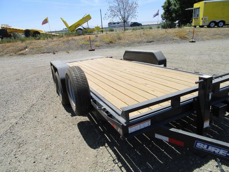 2019 Sure-Trac TILT Equipment Trailer