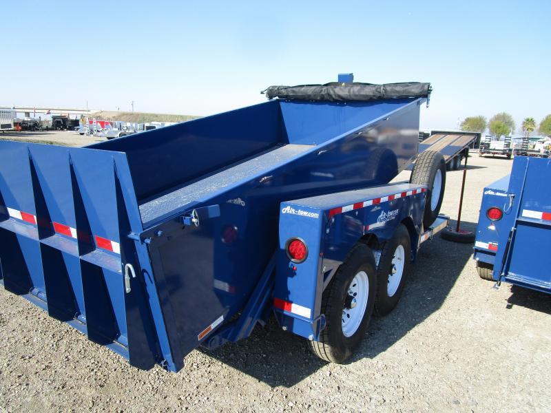 2020 Air Tow EQ-LIFT-3D Dump Trailer- with DropDown Deck
