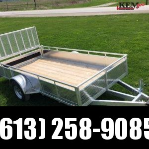 "2020 Millroad 14' Utility 80"" wide Utility Trailer"