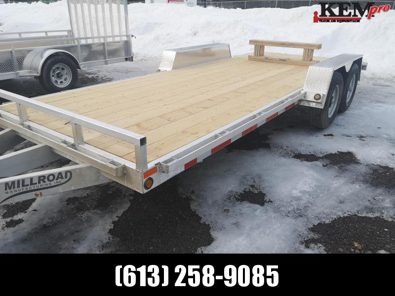 2020 Millroad Aluminum Equipment Equipment Trailer