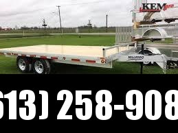 2020 Millroad Deck over Straight deck Flatbed Trailer