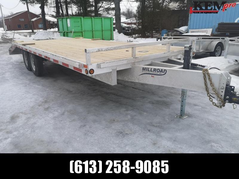 2020 Millroad Deck Over Ramp Equipment Trailer