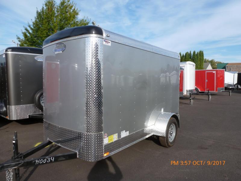 Continental Cargo 5x10 3k CARGO SUPER TALL DIAMOND ICE Enclosed Cargo Trailer