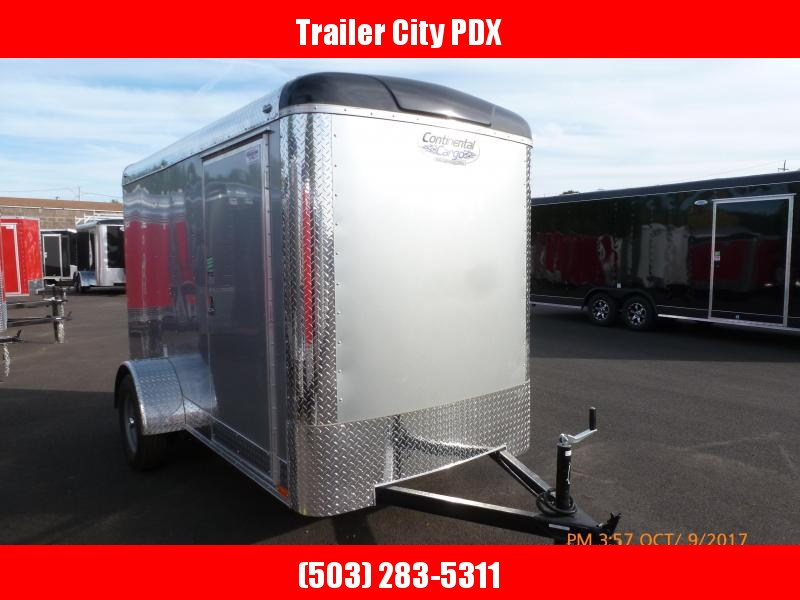 Continental Cargo 5x10 3k CARGO SUPER TALL DIAMOND ICE Enclosed Cargo Trailer