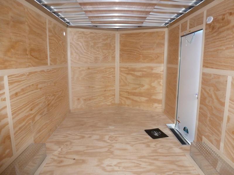 2020 Continental Cargo 8.5 X 16 7K TALL CARGO WHITE Enclosed Cargo Trailer