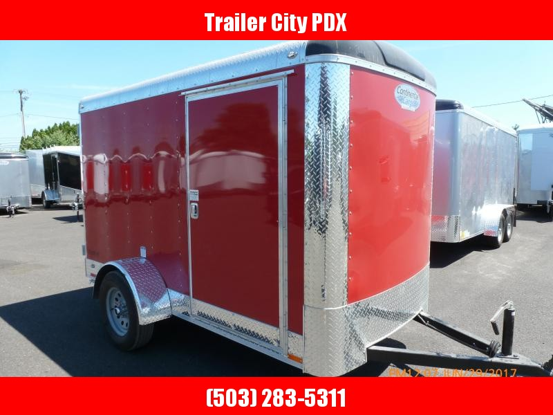 Continental Cargo 5 X 10 3K RED CARGO SUPER TALL Enclosed Cargo Trailer