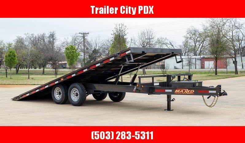 2020 MAXXD TOX - 14K Power Tilt Deckover Trailer Flatbed Trailer