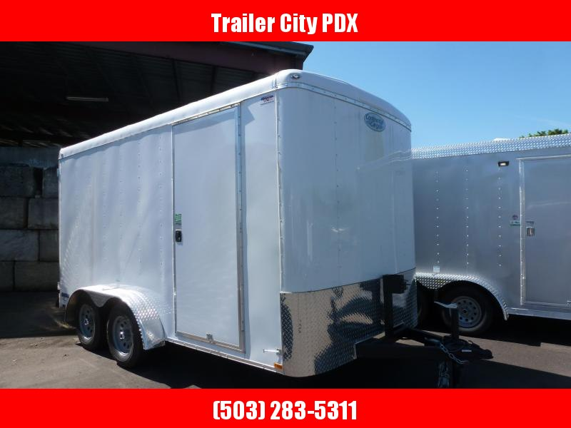 2020 Continental Cargo 7 X 14 7K TALL CARGO WHITE Enclosed Cargo Trailer