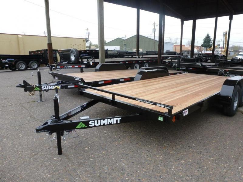 Summit 7X16 7K FLATBED ALPINE