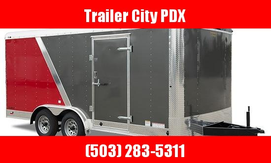 2020 Continental Cargo 8 X 24 10K RAMP 2 TONE WIDE BODY Enclosed Cargo Trailer