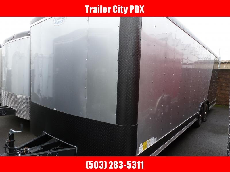Continental Cargo 8 X 24 10K RAMP 2 TONE WIDE BODY Enclosed Trailer
