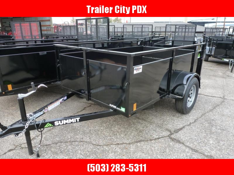 Summit 5 X 8 3K UTILITY WITH SPLIT RAMPS  Trailer