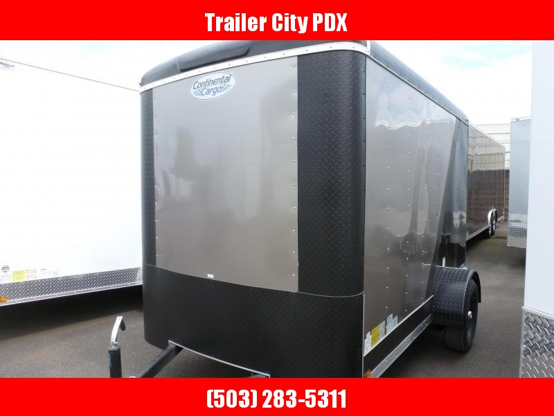 2020 Continental Cargo 6 X 10 3K TALL RAMP STEALTH 2 TONE Enclosed Cargo Trailer