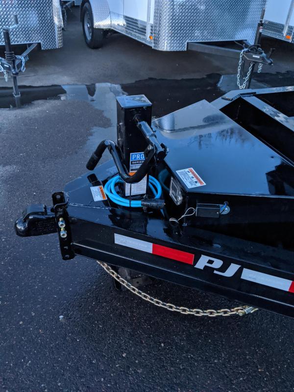 2020 PJ Trailers 83 in. Low Pro Dump (DL) Trailer w/ drop axles