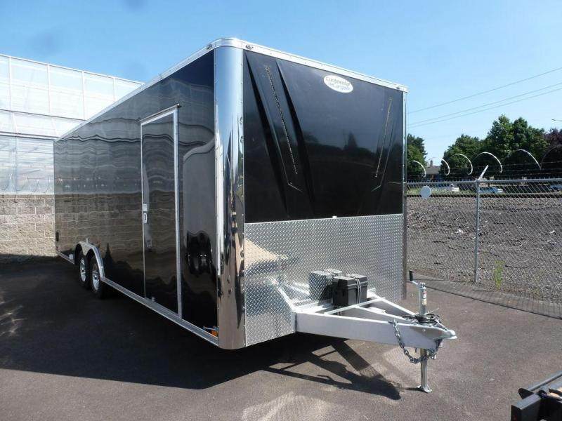 Continental Cargo 8.5X24 10K CROSSBOW CABINETS BLACK