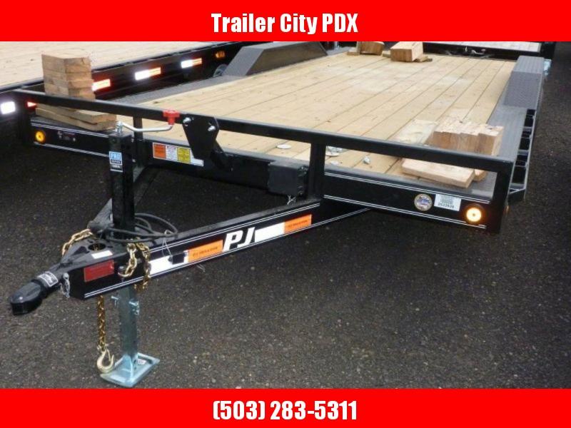 PJ Trailers 8.5X18 7K Buggy Hauler