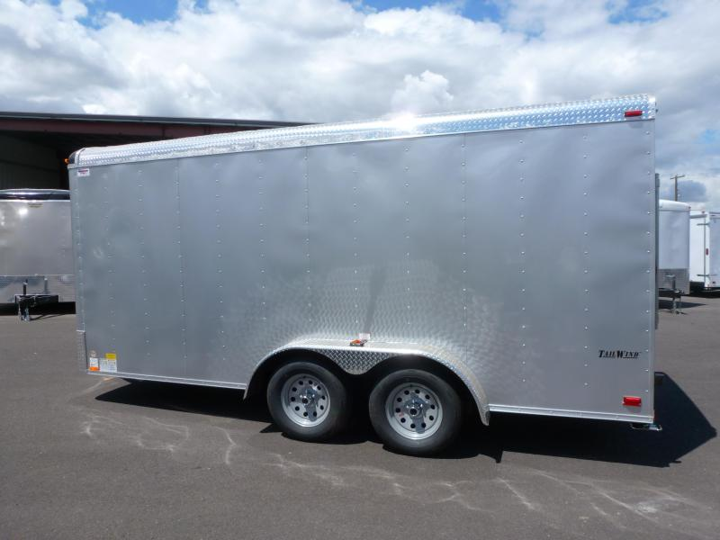 Continental Cargo 7 X 16 10K TALL RAMP Enclosed