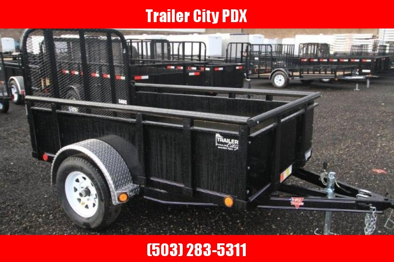 PJ Trailers 5X8 3K Solid Sides