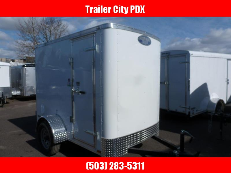 2020 Continental Cargo 5 X 8 3K RAMBLER SUPER TALL WHITE Enclosed Cargo Trailer