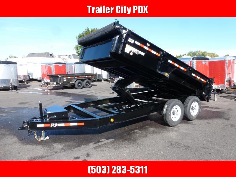 PJ Trailers 83 in. Low Pro Dump (DL)