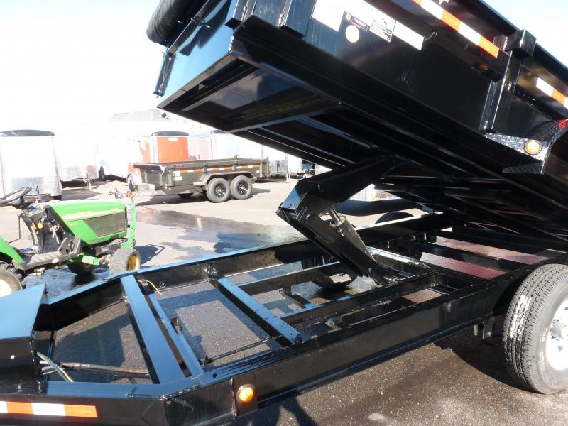 2020 PJ Trailers 14' X 83 in. 14K Low Pro Dump (DL) Dump Trailer