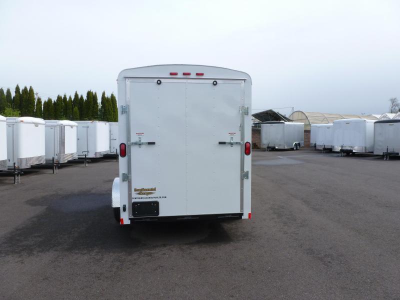 Continental Cargo 6X12 3K RAMP CARGO WHITE