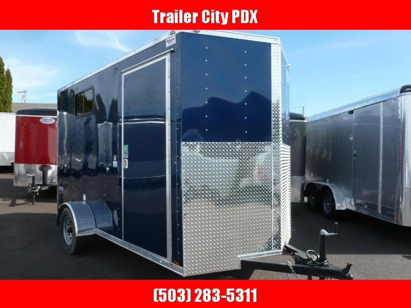 2020 Continental Cargo 6 X 12 3K V-SERIES BLUE RAMP SUPER TALL Enclosed Cargo Trailer