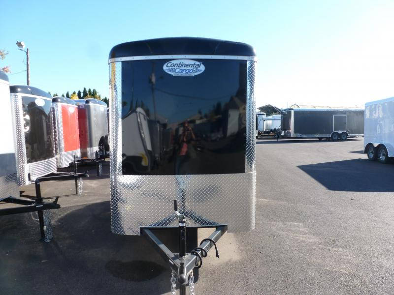 Continental Cargo 5X10 3K RAMP BLACK SUPER TALL Enclosed Cargo Trailer