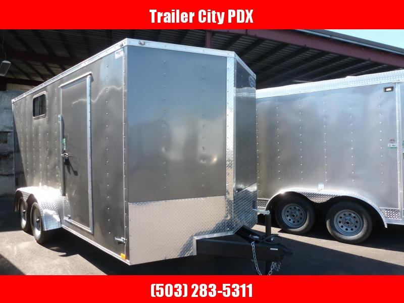2020 Continental Cargo 7 X 16 7K RAMP TALL V SERIES Enclosed Cargo Trailer