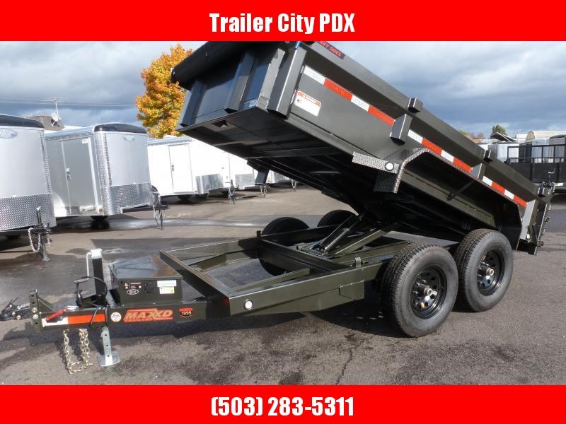 2020 MAXXD D7X - 6 X 12 12K DUMP 4'SOLID SIDES Trailer Dump Trailer