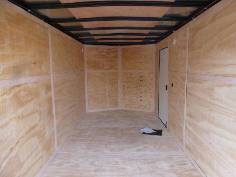 Continental Cargo 7X14 7K V-SERIES WHITE TALL RAMP