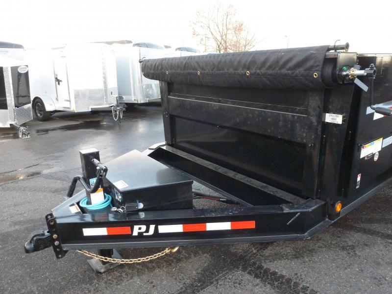 "2020 PJ Trailers DMA 83""x14' 14K Dump Dump Trailer"
