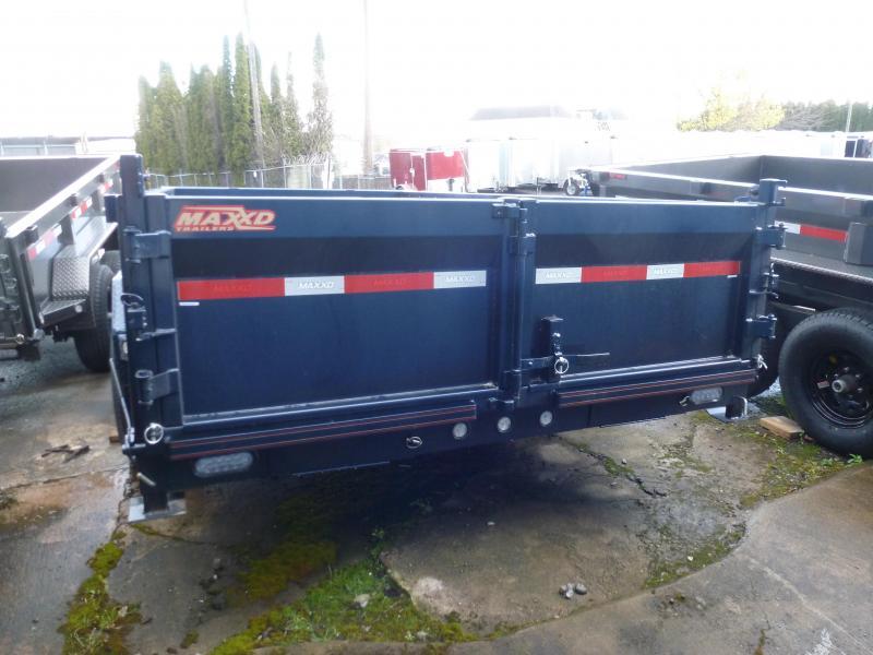 2020 MAXXD 7 X 14 14K 2FT SIDES. I-Beam Dump Trailer Dump Trailer
