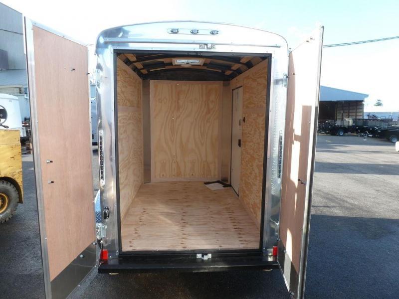Continental Cargo 5 X 8 3K CARGO SUPER TALL CHARCOAL Enclosed Cargo Trailer