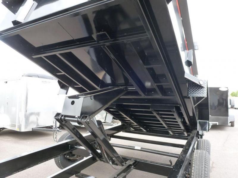 MAXXD Trailers 7X14 14K Heavy Duty Dump RAMPS/TARP - SOLD - MORE COMING